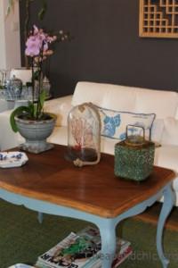 Restaurar una mesa de centro antigua
