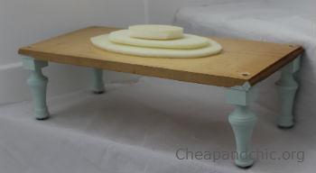 foto del proceso de tapizado